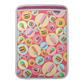 Pink Icecream Candy MacBook Air Sleeve