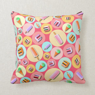 Pink Icecream Candy Pillow