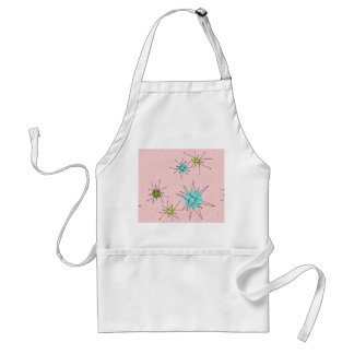 Pink Iconic Atomic Starbursts Apron