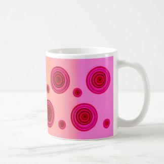 pink illusions coffee mug