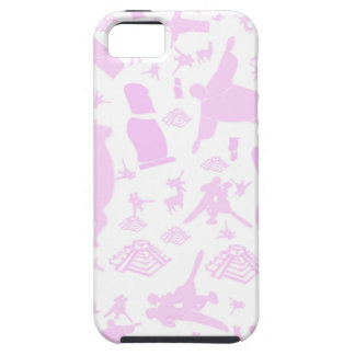 Pink images of South America iPhone 5 Case