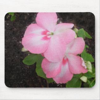 Pink Impatiens Flower Mousepad