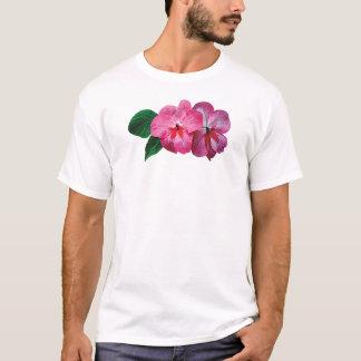 Pink Impatiens Mens T-Shirt
