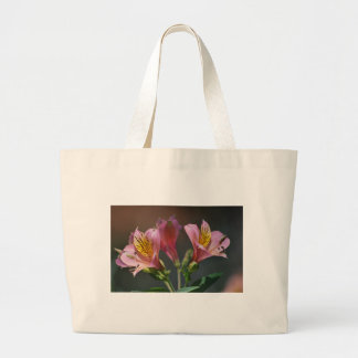 Pink Inca Lily flowers and meaning Tote Bag