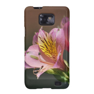 Pink Inca Lily flowers and meaning Galaxy SII Case