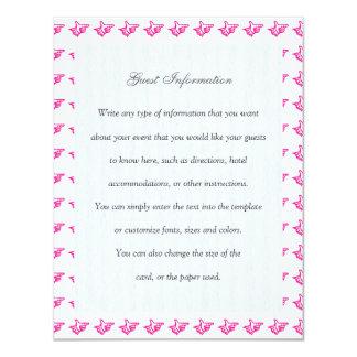 Pink Index Card