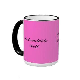 Pink Indomitable Doll Mug
