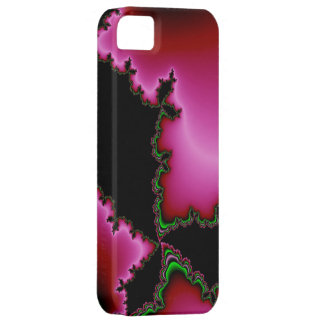 Pink Inferno - Fractal by EML iPhone SE/5/5s Case