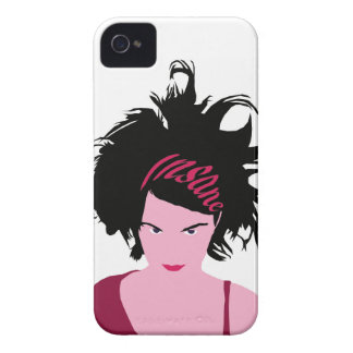 Pink Insane Girl Case-Mate iPhone 4 Cases
