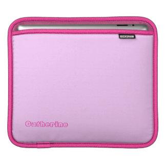 Pink iPad sleeve for Catherine
