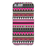 Pink iPhone 6 case - Aztec Pattern