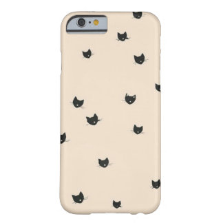 Pink iphone case kitties funda para iPhone 6 barely there