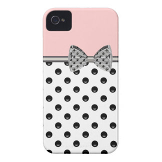Pink iPhone Case With Printed Bow