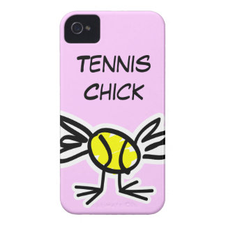 Pink iPhone case with tennis design iPhone 4 Cover