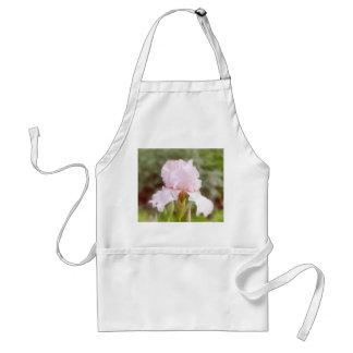 Pink Iris - Vanity Adult Apron