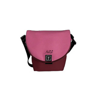 Pink Is Attitude Courier Bag