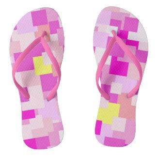 Pink is Me Flip Flops