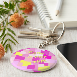 Pink is Me Keychain