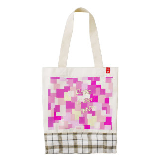 Pink is Me Zazzle HEART Tote Bag