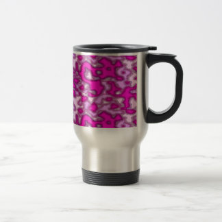 pink is not a color its a attitude travel mug
