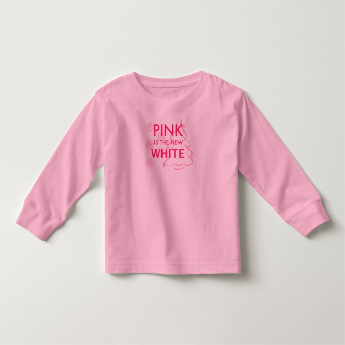 Pink is the New White Toddler T-shirt