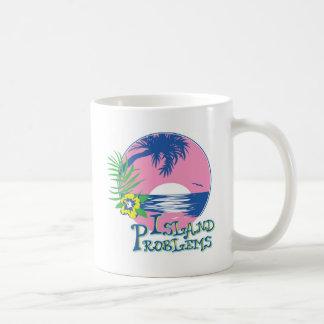Pink Island Problems Coffee Mug