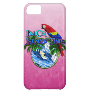Pink Island Time Surfing Case For iPhone 5C