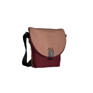 Pink isn't just a color it's an Attitude too. Courier Bag