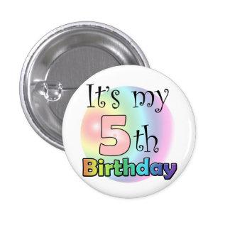 Pink It's my 5th Birthday