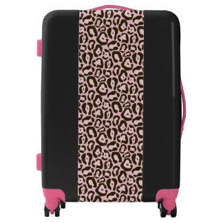 Pink Jaguar Wild Animal Skin Pattern Luggage