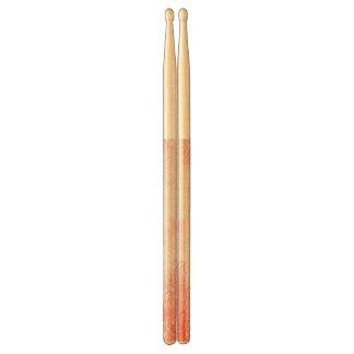 Pink Japanese Chrysanthemums Drum Sticks