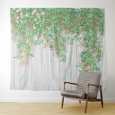 Professional Business Pink Jasmine Tapestry