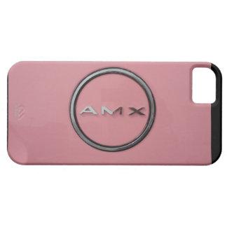 PINK JAVELIN AMX LOGO AMERICAN MOTORS COMPANY iPhone 5 CARCASAS