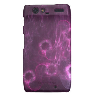pink jellyfish abstract art case for RAZR Droid RAZR Cases