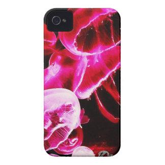 Pink Jellyfish iPhone 4 Case-Mate Case
