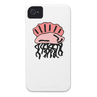 Pink Jellyfish iPhone 4 Cases