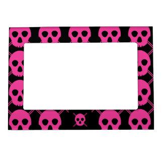 Pink Johnny Skull Magnetic Frames