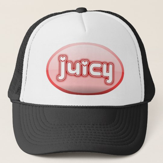 pink juicy trucker hat