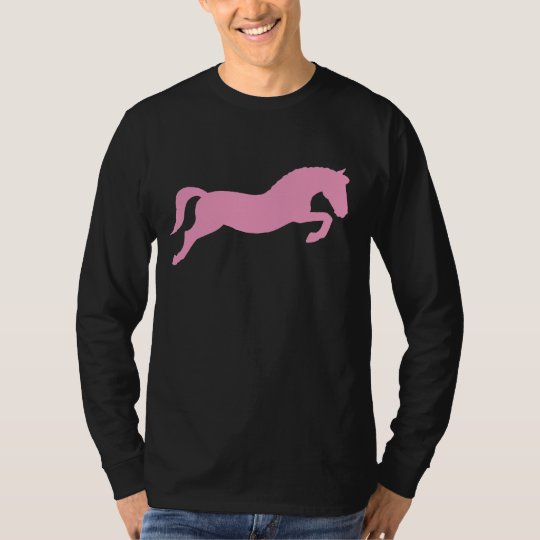 Pink Jumping Pony T-Shirt