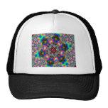 Pink Kaleidiscope Mesh Hat