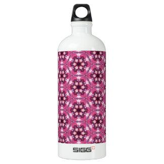 Pink Kaleidoscope Water Bottle