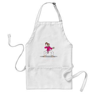 Pink Karate Aprons