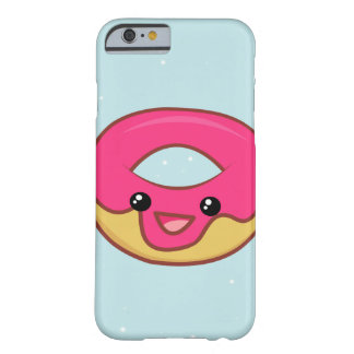 Pink Kawaii Donut, Cute Food Barely There iPhone 6 Case