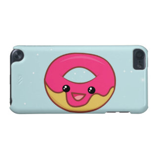 Pink Kawaii Donut, Cute Food iPod Touch 5G Cover