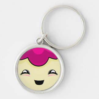 Pink Kawaii Tickle Monster Keychain