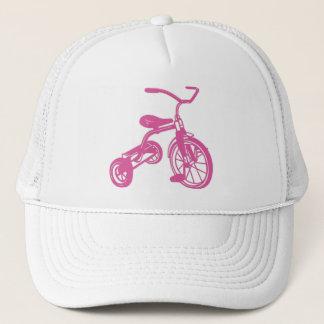 Pink Kid's Tricycle Trucker Hat