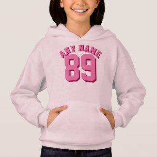 Pink Kids | Sports Jersey Design Hoodie