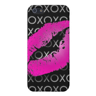 Pink Kisses iPhone SE/5/5s Cover