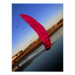 Pink Kite Poster