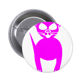 Pink kitty button